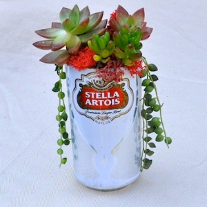 Beer Can Centerpiece