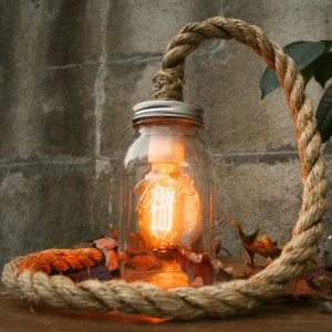 Mason Jar Rope Light