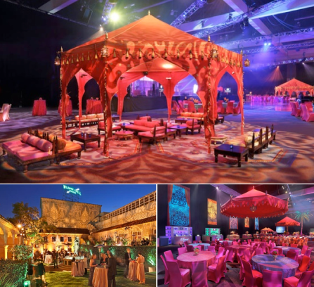 Indian inspired event design
