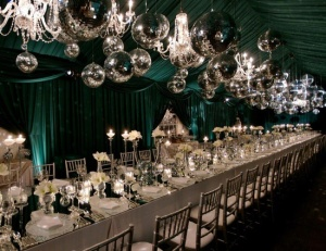 Emerald City Inspired Tent