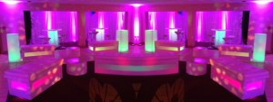 Glowing LED Furniture Loung