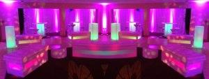 Glowing LED Furniture Loung