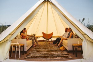 Tent Seating Lounge
