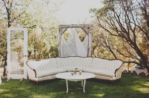 Rustic Vintage Wedding Lounge