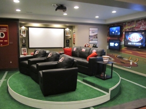 Sports Mancave Lounge