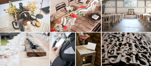 Urban Wedding Decor