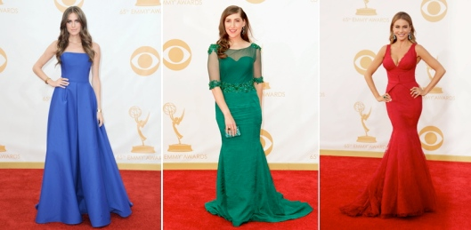 Emmy 2013 Jewel Tones