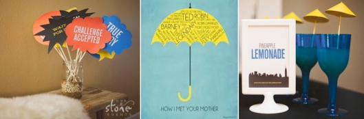 How I Met Your Mother Treats & Eats