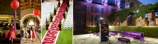 Red & Purple Fall Wedding
