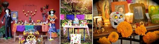 El Dia De Los Muertos Colors