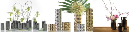 Metallic Vases